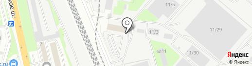Домодедово на карте Домодедово