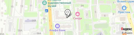 Дядя Федор на карте Домодедово