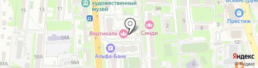 Золотая рыбка на карте Домодедово