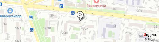 Айболит на карте Москвы