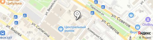 Торес на карте Новороссийска