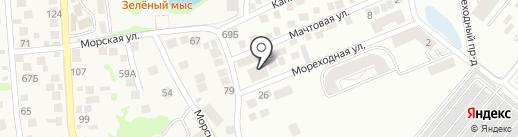 Великий на карте Новороссийска