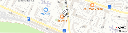 Городской расчетный центр на карте Новороссийска