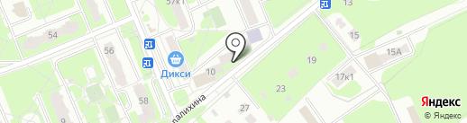Домодедовская детская хоровая школа на карте Домодедово