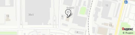 АКАМ на карте Мытищ