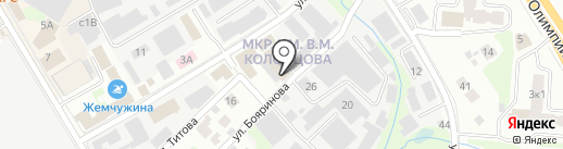 Колби-М на карте Мытищ