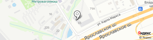 Аксон на карте Мытищ