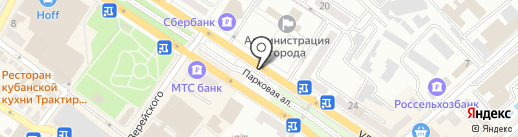 Арго АСТИ на карте Новороссийска
