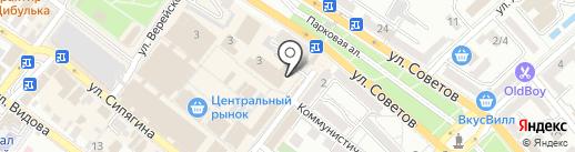 Табачная лавка на карте Новороссийска