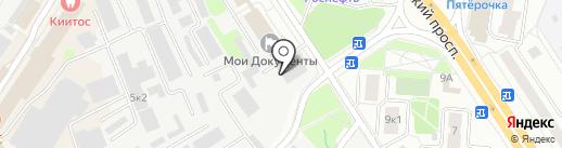 DAS на карте Мытищ