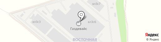 Рыжий кот на карте Совхоза имени Ленина