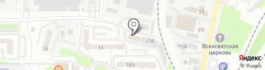 Интакс на карте Мытищ