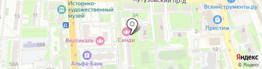 Московское областное отделение КПРФ на карте Домодедово