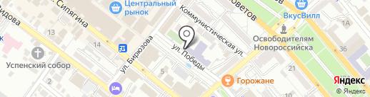 Новороссийский Казачий Кадетский Корпус на карте Новороссийска