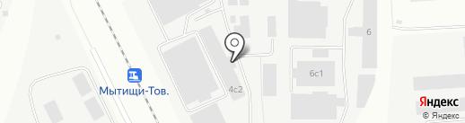 ФРЕГАТ на карте Мытищ