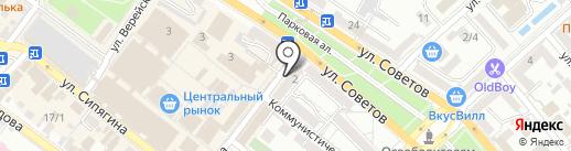 Бинбанк, ПАО на карте Новороссийска
