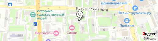 Актион на карте Домодедово