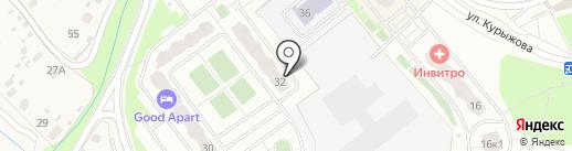 Южное Домодедово на карте Домодедово