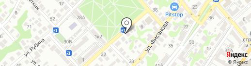 Пивной маркет на карте Новороссийска