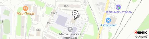 Профи-т на карте Мытищ