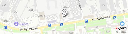 ВентБаза на карте Новороссийска