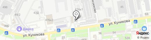 Иви-строй на карте Новороссийска