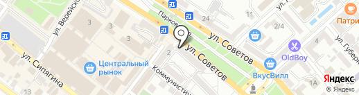 FastMoney на карте Новороссийска