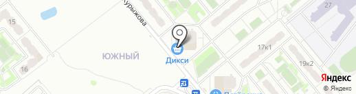 Артэкс мобайл на карте Домодедово