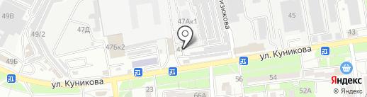 Демис, ЗАО на карте Новороссийска