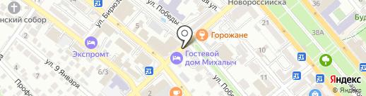 Каспий на карте Новороссийска