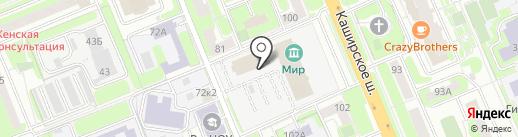 Городская детская библиотека №33 на карте Домодедово