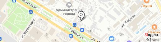 Дом полиграфии на карте Новороссийска