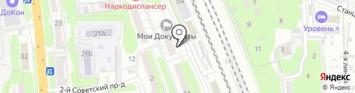 Многофункциональный центр предоставления государственных и муниципальных услуг на карте Домодедово