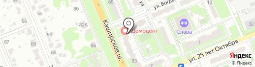 Axiont на карте Домодедово