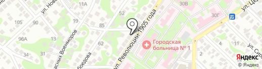 СиЭс Медика Кубань на карте Новороссийска