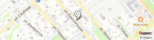 Новороссийские вести на карте Новороссийска