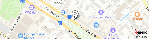 Мир здоровья на карте Новороссийска