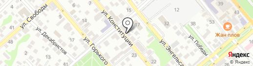 Электрон-плюс на карте Новороссийска