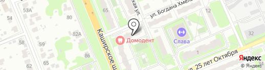 Интеллект на карте Домодедово