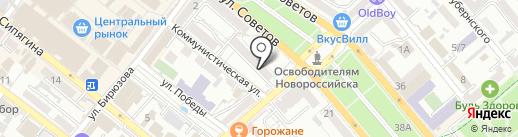Auto Tower на карте Новороссийска