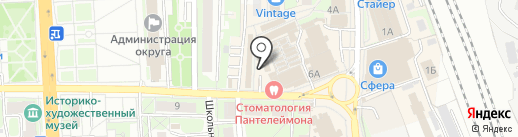 Океан на карте Домодедово
