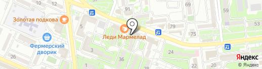 Ариэль на карте Новороссийска