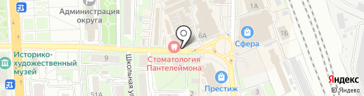ХимТоргОпт на карте Домодедово
