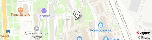 Колбасный дворик на карте Домодедово