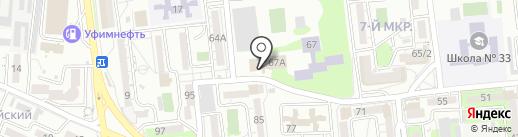 Дельфин на карте Новороссийска