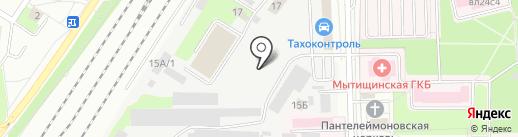 Покрасофф на карте Мытищ
