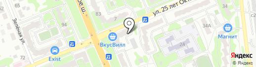 Продовольственный магазин на карте Домодедово