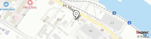 НВ ЛАЙН на карте Новороссийска