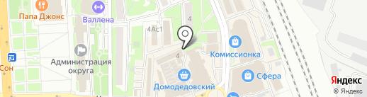 Первая полоса на карте Домодедово