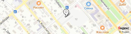 Олимп на карте Новороссийска